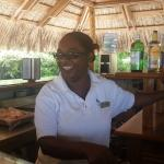 One of the best bartenders ever!  She made our trip special!