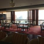 Executive Lounge 'looking out' onto Beijing