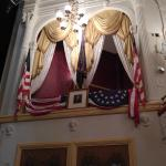 Presidential Box at Ford's Theatre