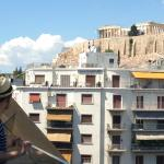 Perfect view of the Acropolis