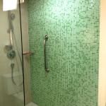 Room 121 - Bathroom shower with great water pressure!