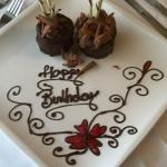 Delicious Birthday Present from the Marriott!