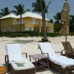 Perfect place for sunbathing, reading, and relaxing with beach service