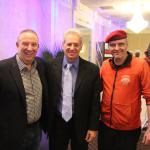 Mike Gallegher, Curtis Sliwa, and Ed Reagoso
