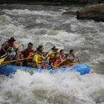 Rafting with Calvin