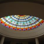 The wonderful dome at the lobby!