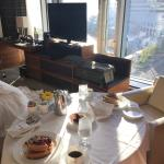 Breakfast with a view from an Ofuro Suite