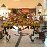 Display on 'Jamaican' night in main buffet