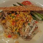 Great Snapper on Risotto