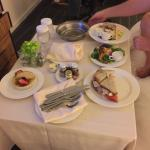 Room service on our second night stay. Turkey and avocado club was excellent! Some of the best t