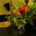 Closest Restroom to the Main Pool- Super Clean and fresh flowers!