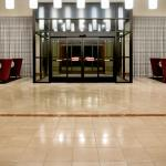 Holiday Inn Nashville Airport Front Entrance and Registration