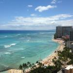 View from Aston Waikiki Beach Tower