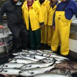 Our last day: no halibut but good kings / silvers / ling cod / rockfish.
