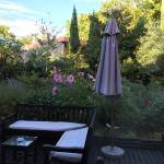 A view from the Restaurant, lovely gardens