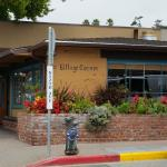 A view of the Village Corner restaurant from across the street.