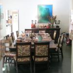 Dining room can be used for take-out dinners