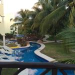 Rooms / grounds surrounding the lazy river