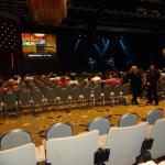 View in the Event Center in Section A, Row D, Seat 3