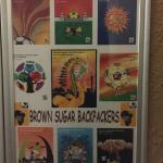 Poster from the 2010 World Cup Soccer in SA