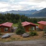 Cabins up close
