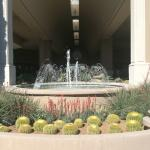 Fountain in Front Lobby