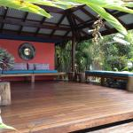 Balinese style deck