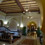 Lobby of the Alhambra Palace Hotel