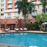 Pics from the hotel pool and Room 816