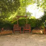 Our outside patio area makes a great spot for Wedding Photographs