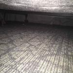 Dust under bed