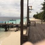 Photo de Pulau Mataking Reef Dive Resort