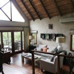 Our lodge at Lukimbi