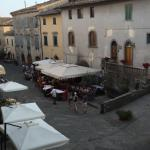 The Piazza outside our hotel room