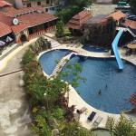 Pool, restaurant, reception & parking