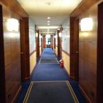 corridor to the room