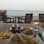 Meal with view - that was a fantastic sandwich too.