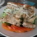 My lunch from the Sunset bar
