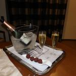 Champagne in the room