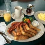 Complimentary breakfast was delicious and huge portions!