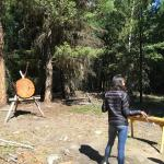 Hatchet throwing!