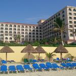 Hotel Solaris and its beach area