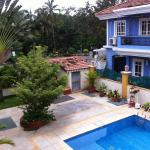 Front view from the balcony