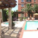 panoramic view of the pool!