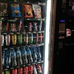Vending machine at the lobby