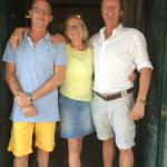 Helena, Kees and Paul