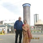 In front of KICC