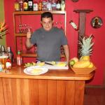 Carlos the master host and chef!