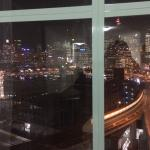 View of the Darling Harbour from the penthouse