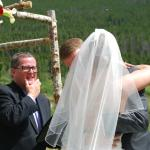 Our perfect wedding day for our daughter